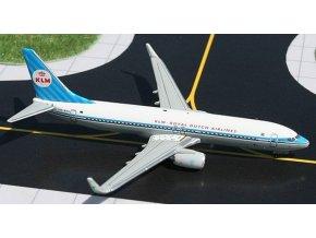Gemini - Boeing B 737-8K2WL, dopravce KLM Royal Dutch Airlines, Nizozemí, 1/400