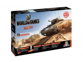 Italeri - Cruiser Crusader Mk.III, Model Kit World of Tanks 36514, 1/35