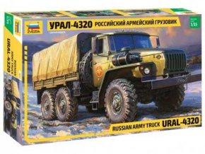 Zvezda - Ural 4320, 1/35 Model Kit 3654