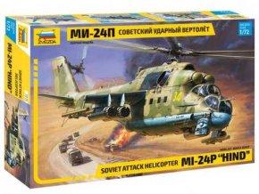 Zvezda - Mil Mi-24P Hind, 1/72, Model Kit 7315