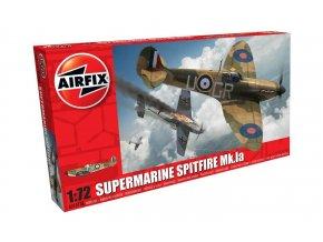 Airfix - Supermarine Spitfire Mk.Ia, Classic Kit A01071B, 1/72
