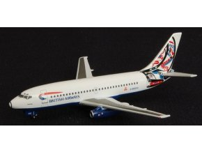 Aviation 400 - Boeing B 737-236A, dopravce British Airways, Velká Británie, 1/400