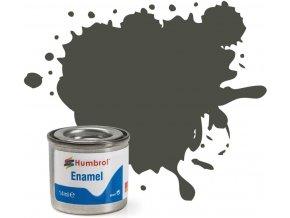 Humbrol barva email AA2253 No 253 RLM83 Dunkel Grun Matt 14ml a88729637 10374