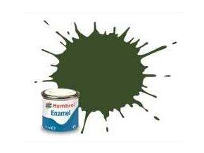 Humbrol barva email AA2242 - No 242 RLM71 Dunkelgrun - Matt - 14ml
