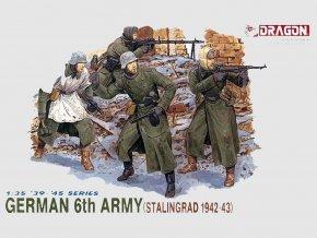 Dragon - figurky Wehrmacht, 6. armáda, Stalingrad, 1942-43, 1/35, Model Kit figurky 6017