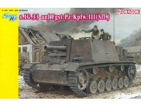 Dragon - 15 cm SIG 33 na podvozku Panzer III, 1/35, Model Kit 6713