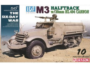 Dragon - M3 Halftrack s 20 mm kanonem, 1/35, Model Kit 3598