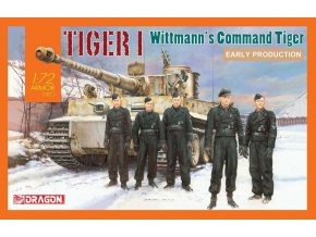 Dragon - Pz.Kpfw.VI Tiger I, SS-Hauptsturmführer Michael Wittmann, 1/72, Model Kit 7575