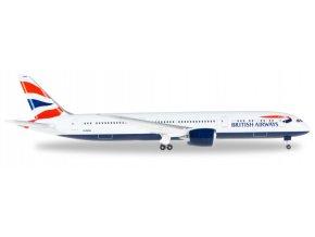 Herpa - Boeing  B 787-9, dopravce British Airways, Velká Británie, 1/500