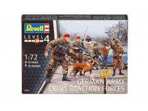 Revell - figurky německá armáda, síly rychlé reakce, 1/72, Plastic ModelKit figurky 02522