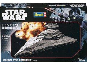 Revell - Star Wars - Imperial Star Destroyer, Plastic ModelKit SW 03609, 1/12300