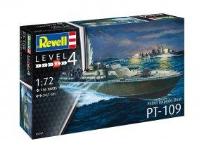 Revell - torpdévý člun PT109, 1/72, ModelKit 0514