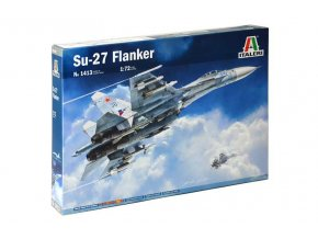 Italeri - Suchoj Su-27A Flanker, Model Kit 1413, 1/72