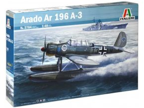 Italeri - Arado Ar-196 A-3, Model Kit 2784, 1/48