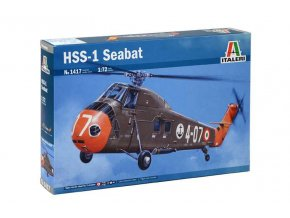 Italeri HSS-1 Seabat, 1/72 - Model Kit 1417
