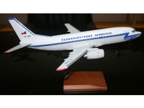 Boeing B737-55S dopravce ČSA Czech Airlines, OK-XGB, Česká Republika, 1/100