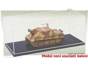 Trumpeter - průhledná krabička na model s podstavcem, 17 x 7,5 x 6,7 cm