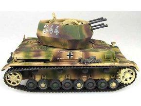 PanzerStahl - Flakpanzer IV Wirbelwind, sPzJgAbt 560, Maďarsko, 1945, 1/72
