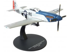 Atlas Models - North American P-51D Mustang, USAAF, major George Earl Preddy Jr., 1944, 1/72