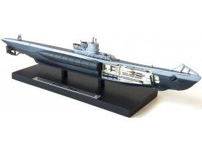 Atlas Models - ponorka Type VIIC, U-255, Kriegsmarine, 1944, 1/350