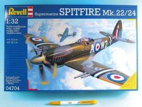 Revell - Supermarine Spitfire Mk. 22/24, ModelKit 04704, 1/32