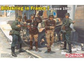 Dragon - figurky Blitzkrieg ve Francii, Model Kit 6478, 1/35