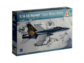 Italeri - McDonnell Douglas F/A-18 Hornet, Tiger Meet 2016, Model Kit 1394, 1/72