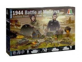 Italeri - diorama Bitva u Malinavy, Litva, 1944, Wargames diorama 6182, 1/72