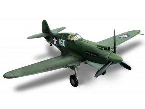 Forces of Valor - Curtiss P-40B Warhawk, USAF, 1/72