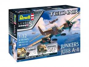 Revell Junkers Ju 88 A-4, ModelKit TECHNIK 00452, 1/32