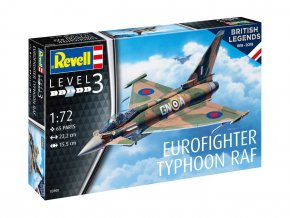 Revell - Eurofighter Typhoon, výročí 100 let RAF, ModelKit 03900, 1/72