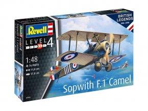 Revell - Sopwith Camel, ModelKit 03906, 1/48