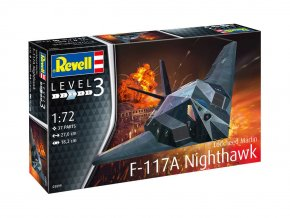 Revell - Lockheed  F-117A Nighthawk, ModelKit 03899, 1/72