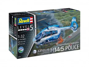 Revell - Airbus H145 Policie, ModelKit 04980, 1/32