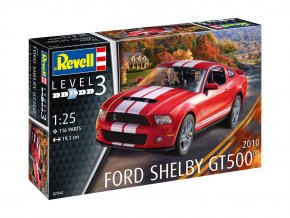 Revell - Ford Shelby GT 500, 2010, ModelKit 07044, 1/25