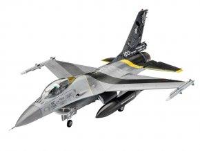 Revell - General Dynamics F-16 Mlu Fighting Falcon, 100th Anniversary, ModelSet letadlo 63905, 1/72