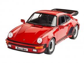 Revell - Porsche 911 Turbo, ModelSet 67179, 1/24