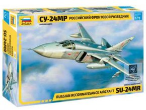 Zvezda - Suchoj Su-24 MR, Model Kit 7268, 1/72