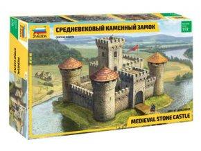 Zvezda - středověký hrad, Model Kit hrad 8512, 1/72