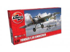Airfix - Classic Kit letadlo A01086 - Fokker E.III Eindecker, 1/72