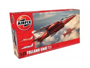 Airfix - Folland Gnat T.1, Classic Kit A02105, 1/72