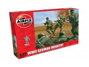 Airfix - figurky německé pěchoty, Classic Kit A00705, 1/72