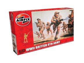 Airfix - figurky britské 8.armády, Classic Kit A00709, 1/72