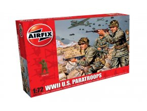 Airfix - figurky amerických parašutistů, Classic Kit A00751, 1/72