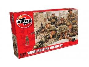 Airfix - figurky britská pěchota, Classic Kit A00763, 1/72