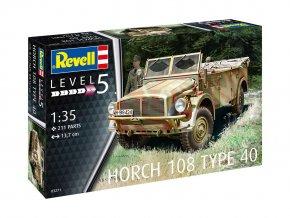 Revell - Horch 108 Type 40, Plastic ModelKit military 03271, 1/35