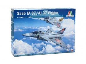Italeri - SAAB JA 37/AJ 37 Viggen, Model Kit letadlo 2785, 1/48