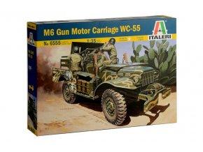 Italeri - Dodge WC-55, Model Kit military 6555, 1/35
