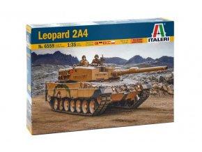 Italeri - Leopard 2A4, Model Kit 6559, 1/35