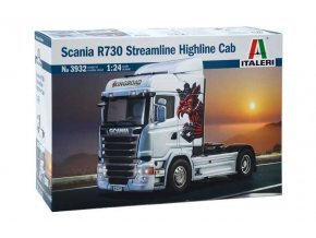 Italeri - truck  Scania R730 Streamline, Model Kit 3932, 1/24